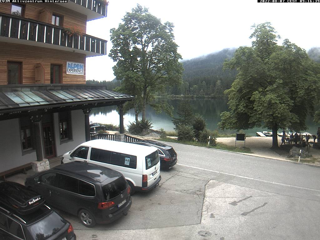 Webcam am CVJM Aktivzentrum Hintersee, Ramsau, Berchtesgaden